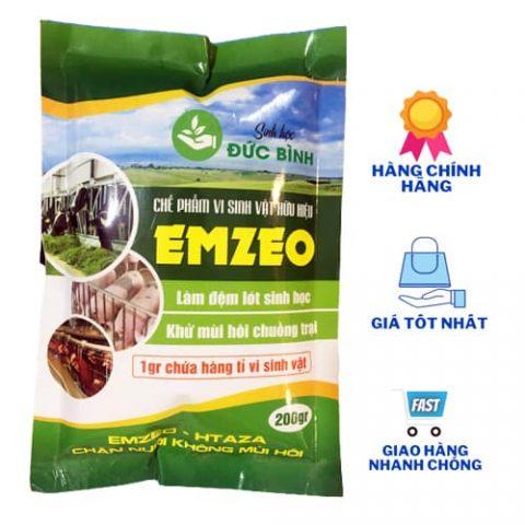 Emzeo chuồng trại khử mùi hôi phân thải nhanh chóng chỉ sau 15 phút khi sử dụng