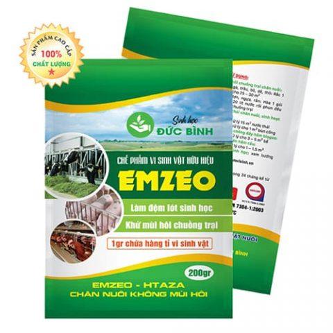 Emzeo chuồng trại là chế phẩm sinh học nên rất an toàn với con người và vật nuôi