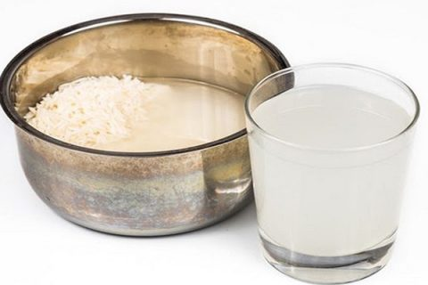 Trong nước vo gạo có nhiều vitamin, khoáng chất, vi lượng ... rất tốt khi tưới cho lan